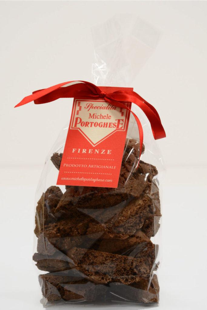 Cantucci morbidi al Cacao - Pasta Portoghese